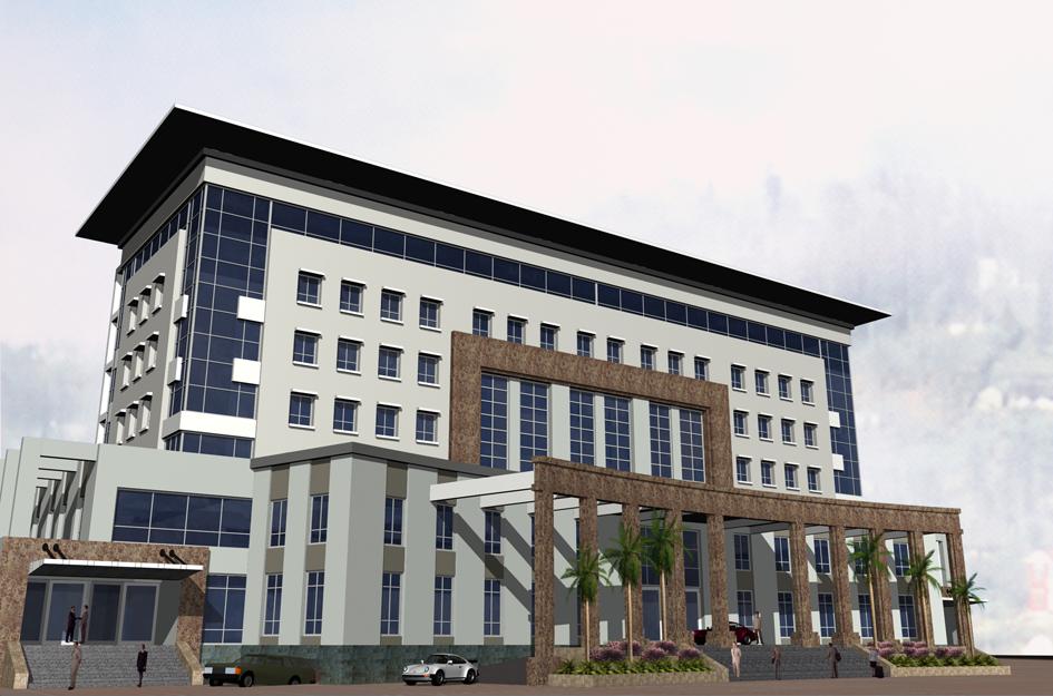 Nhà làm việc liên cơ quan - Khối 7 Lào Cai