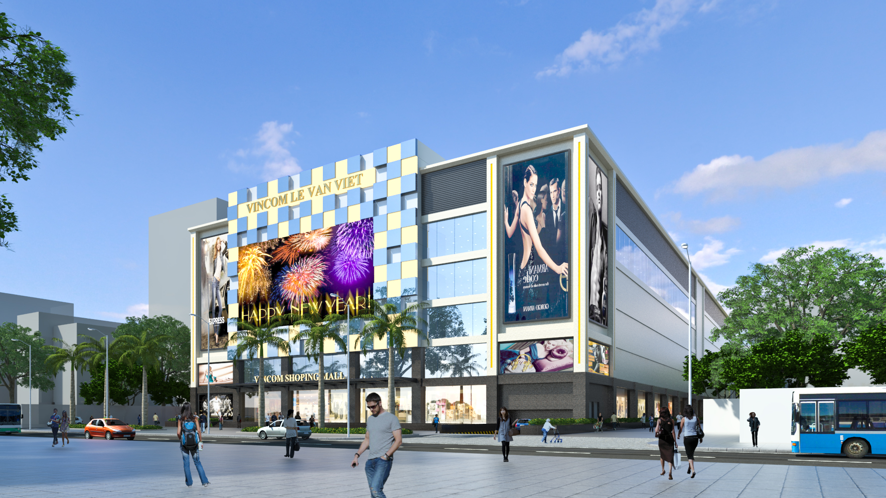 Trung tâm thương mại Vincom Lê Văn Việt
