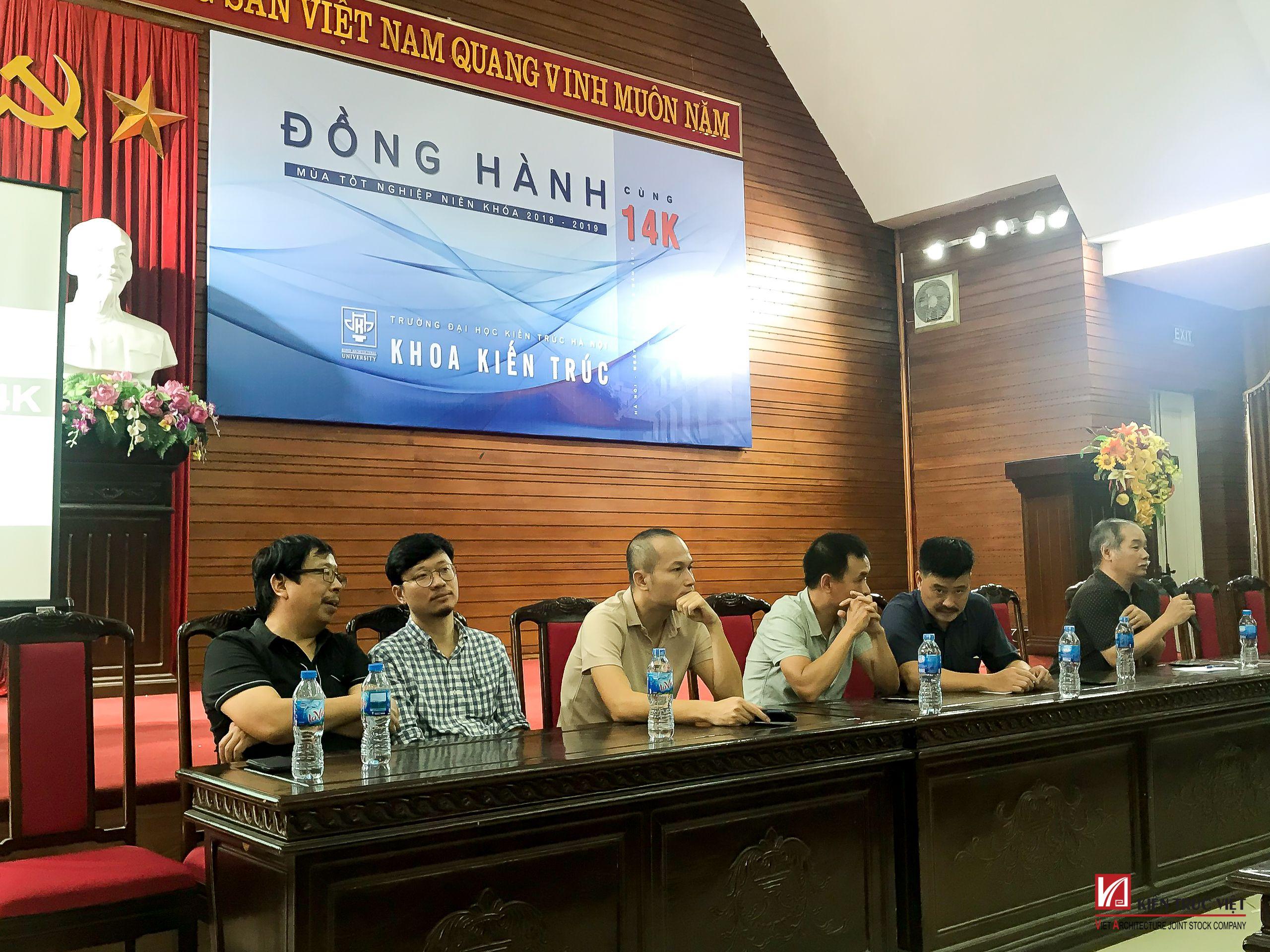 Đồng hành cùng sinh viên 14K Khoa Kiến Trúc - ĐH Kiến Trúc Hà Nội