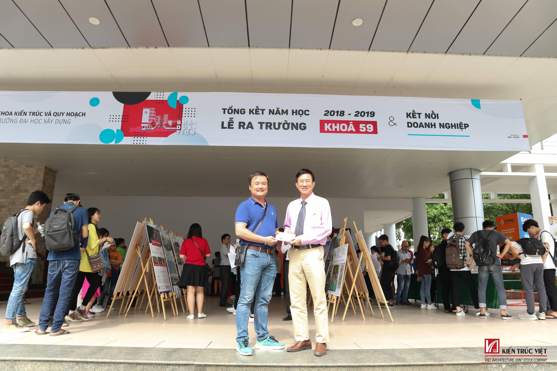 Tham dự Lễ tốt nghiệp K59 Khoa Kiến Trúc & Quy hoạch, ĐH Xây dựng