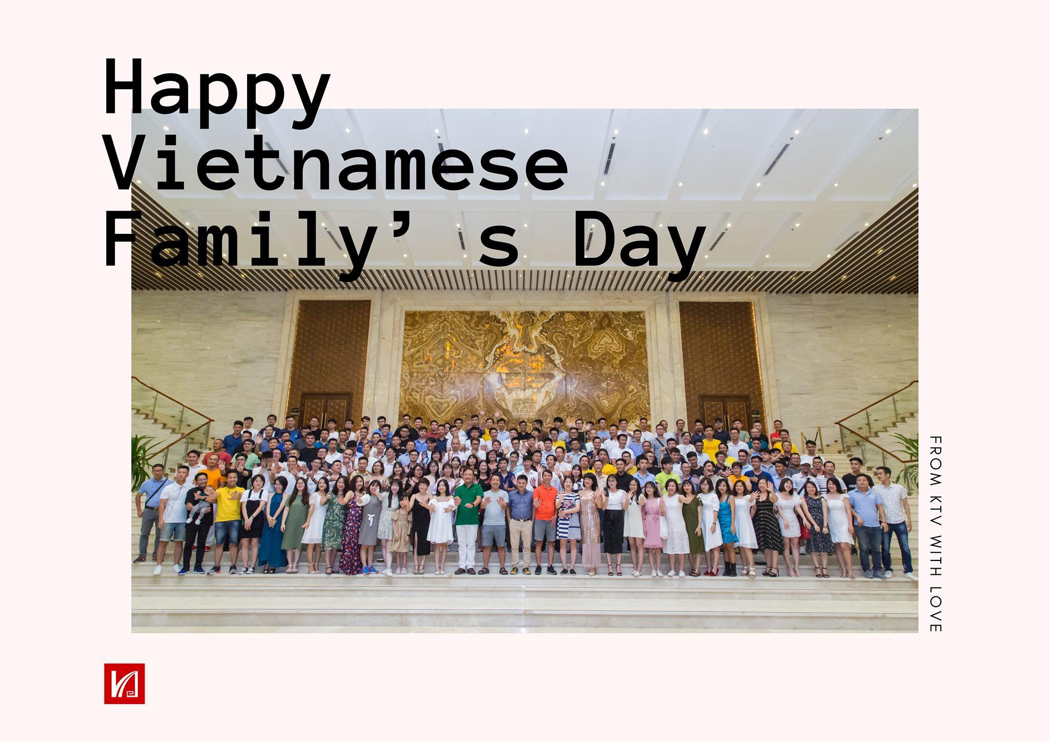 Chúc mừng ngày Gia đình Việt Nam!